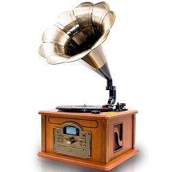 gramofono retro y vintage
