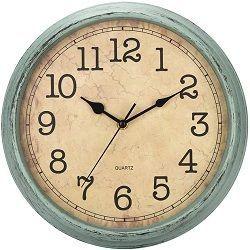 reloj de pared retro, reloj de pared vintage, reloj de pared aspecto antiguo