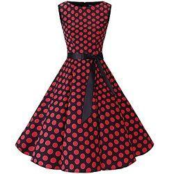 vestidos retro y vintage