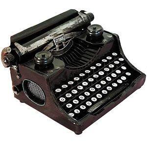 maquina de escribir vintage y retro