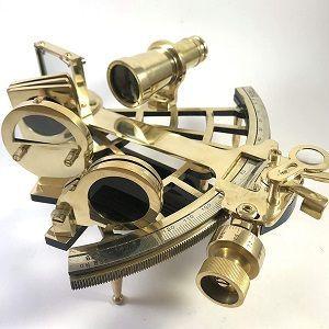 sextante retro y vintage para navegar
